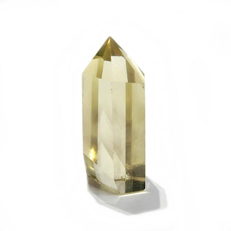 シトリンポイント(16g) 一点物 六角柱 黄水晶