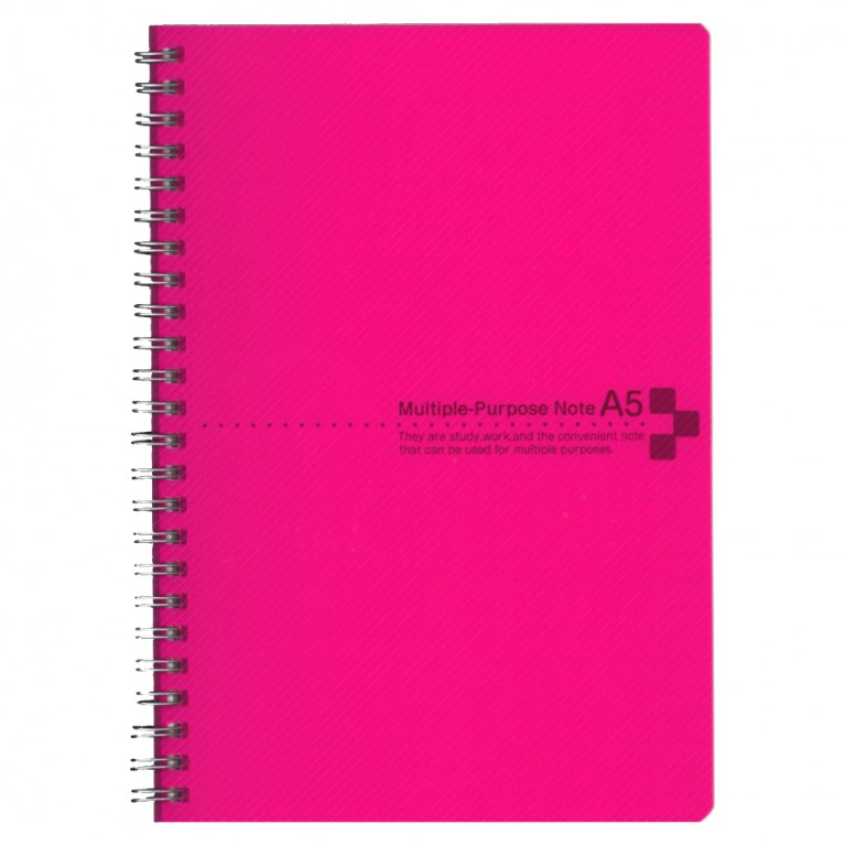 カラーカバーノートA5 ピンク