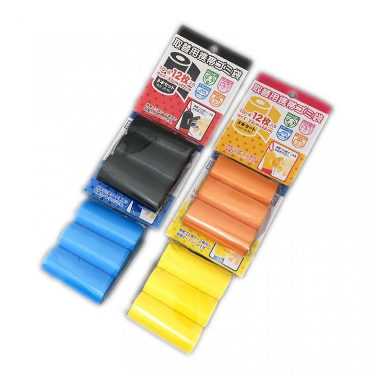 取替用 携帯ゴミ袋3本セット(キャラカラー)