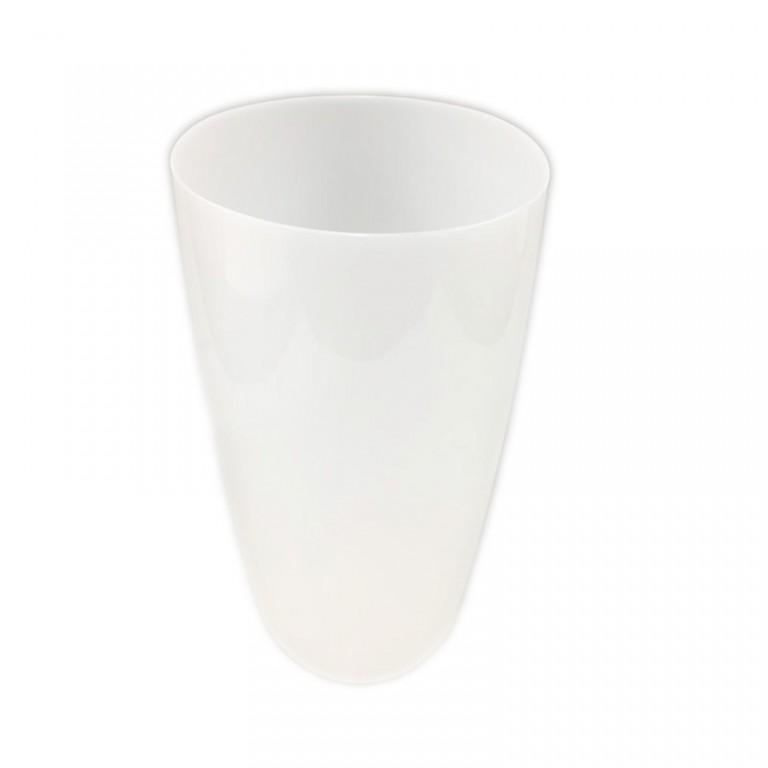 楕円形ダストボックス ホワイト