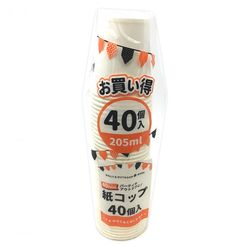 紙コップ 40P 205ml(7オンス) 1袋40個入り