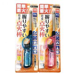簡単着火!握りやすいロング点火棒 ライター 使い切りタイプ