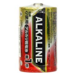 単1アルカリ電池1P