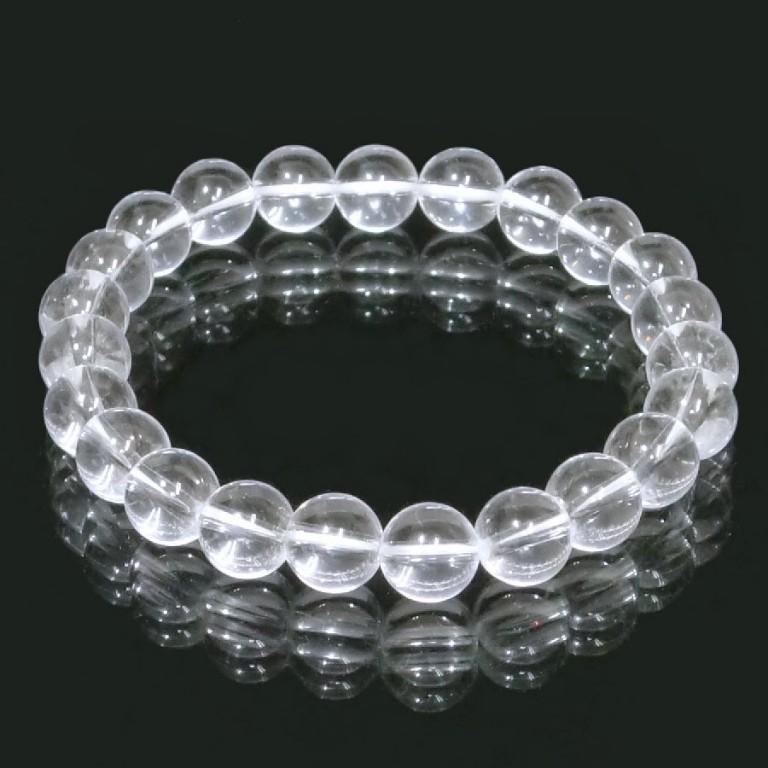 水晶 (クォーツ)ブレスレット 8mm gemstonebracelet crystal