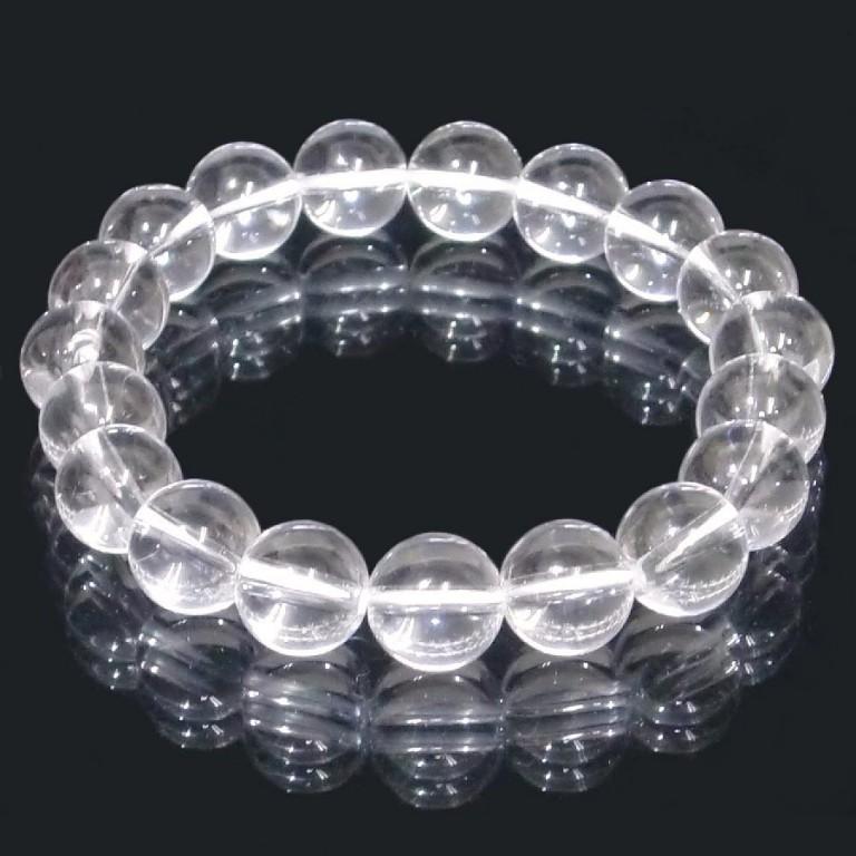 水晶 (クォーツ)ブレスレット 10mm