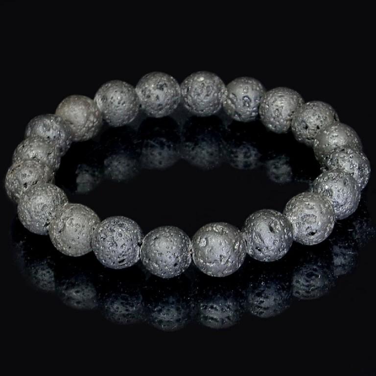 パワーストーン ブレスレット ラバストーン 10mm 溶岩石 gemstonebracelet Lava stone
