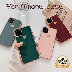 iphone11 ケース 韓国 ソフトケース iphone11Pro iphone8 iphoneXR かわいい おしゃれ xs max 7 plus 大人 ハート きらきら カバー シンプル ペア カップル