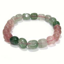パワーストーンブレスレット アベンチュリンタンブル ミックスカラー gemstonebracelet Aventurine Mixed color