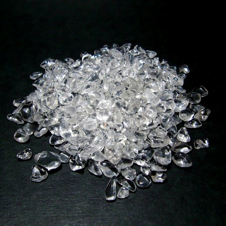 水晶さざれ石 100g crystal pebble sazare