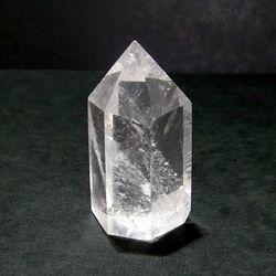水晶ポイント 六角柱 クリスタル ポイント 73g