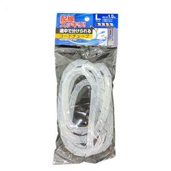 コードチューブL 配線をまとめてスッキリ 電源コード ケーブル 100円均一