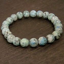 パワーストーンブレスレット K2ブルー gemstonebracelet