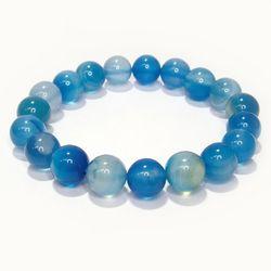パワーストーン ブレスレット ブルーアゲート 10mm gemstonebracelet