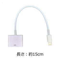 Lightning - 30ピン 変換アダプター 充電 データ転送 iPhone スマホ ケーブル 100円均一