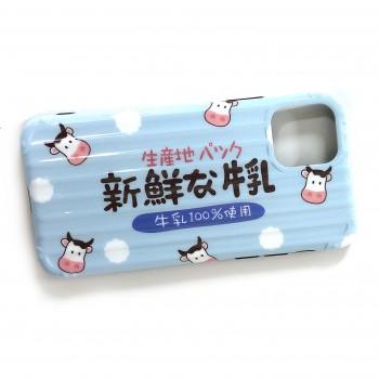 iPhoneケース ソフト シリコン 新鮮な牛乳 iPhone11/11Pro/11ProMax スマホ アイフォン ケース カバー