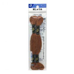 刺しゅう糸(茶色)2P ステッチ 刺繍 ハンドメイド