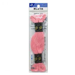 刺しゅう糸(ピンク色)2P ステッチ 刺繍 ハンドメイド